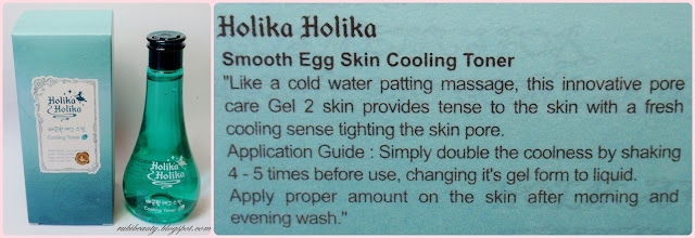holika holika smooth egg skin cooling toner rubibeauty sasa