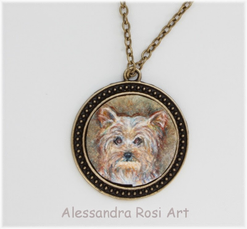pet portrait jewelry