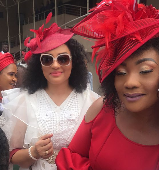 Photos from the one year memorial/thanksgiving service of Eucharia Anunobi's son