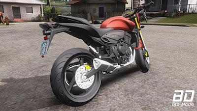 Mod, Moto, Honda Hornet Estilo Favela para GTA San Andreas, GTA SA
