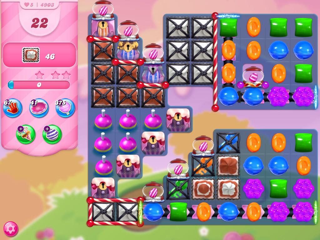 Candy Crush Saga level 4903