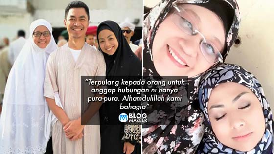 """""""Bestnya bermadu jika kedua-duanya ikhlas"""" – Netizen Puji Kemesraan Datuk Nurulhidayah dan Madu"""