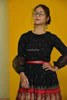 Aditi Myakal in Spicy Red Short Skirt and Transparent Black Top at at Big FM For Promotion of Movie Ami Tumi 066.JPG