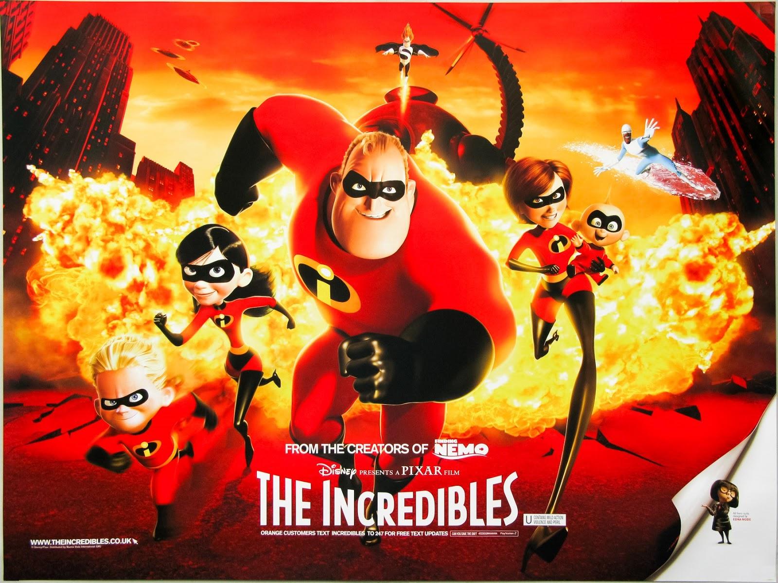 David S Cave My Favorite Films The Incredibles 2004 Saturday Evening Cartoons