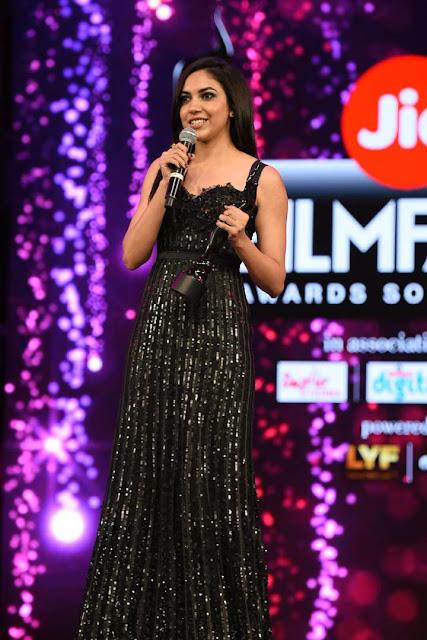 Actress Ritu Varma at Filmfare Awards South 2017