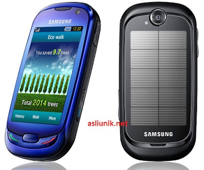 samsung blue earth phone