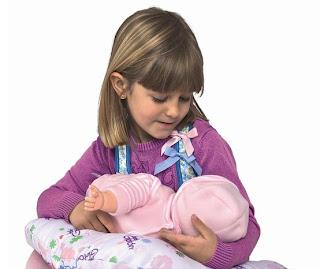 Breastfeeding Baby Doll