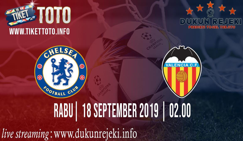 Prediksi UEFA Champions Chelsea Vs Valencia 18 September 2019