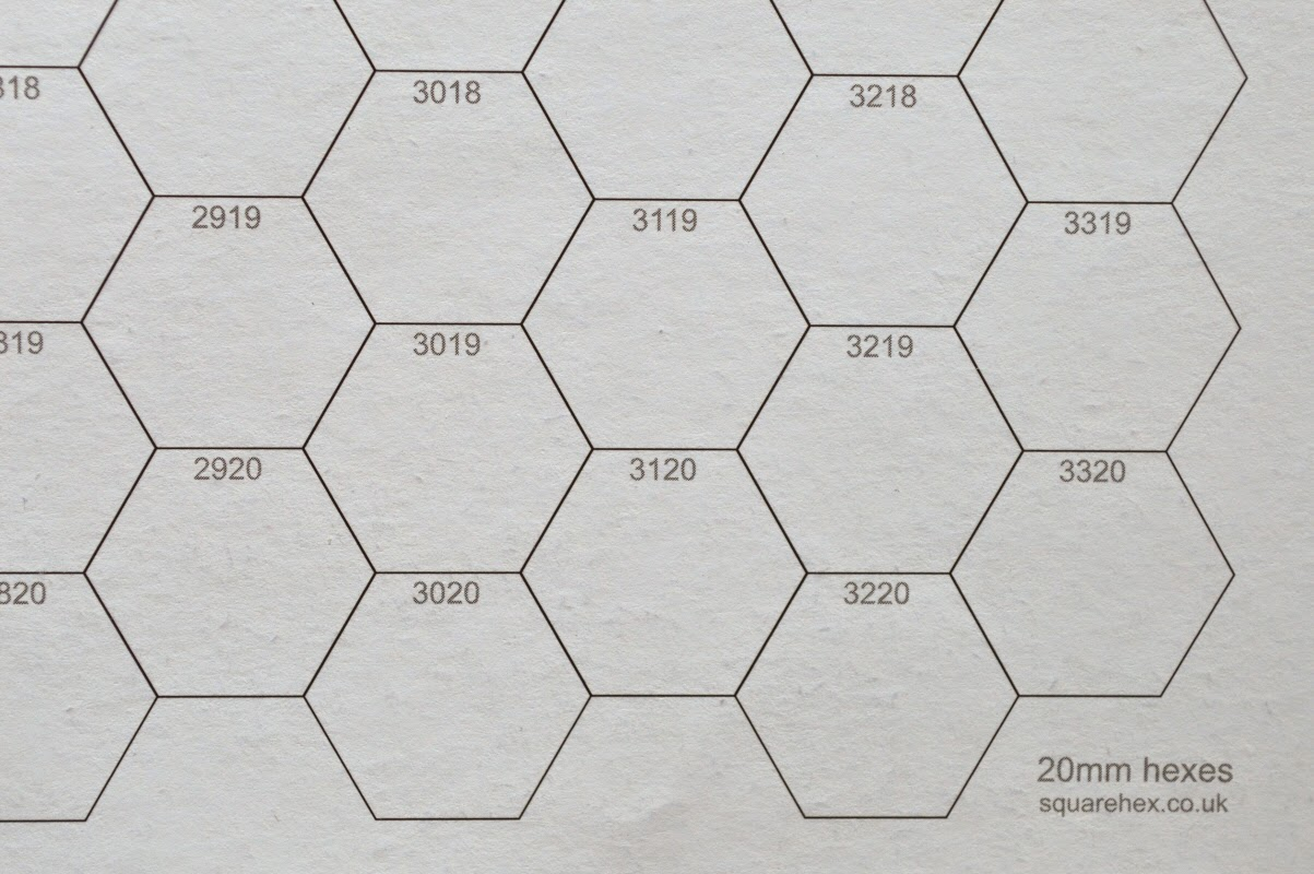 Oubliette Magazine: A2 20mm Numbered Hex Sheets Out Now!