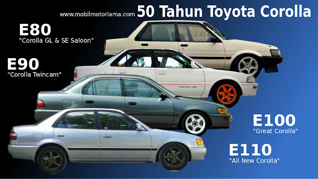 Great Corolla, All new corolla, twincam, gl se saloon