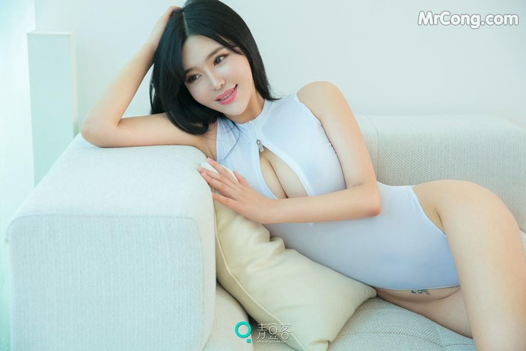 Image QingDouKe-2017-10-08-Liu-Yu-Er-MrCong.com-009 in post QingDouKe 2017-10-08: Người mẫu Liu Yu Er (刘钰儿) (53 ảnh)