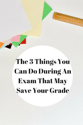 3 Exam Tips That May Save Your Grade