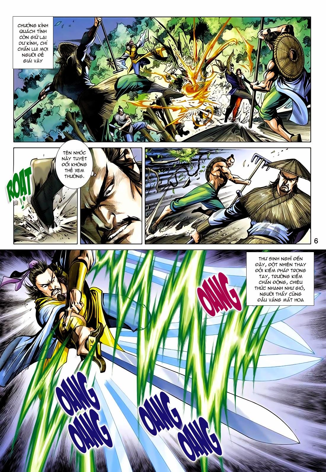 Anh Hùng Xạ Điêu anh hùng xạ đêu chap 75: hoàng thành cựu sự trang 6