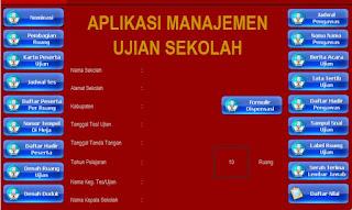 Aplikasi Administrasi Manajemen Ujian Sekolah
