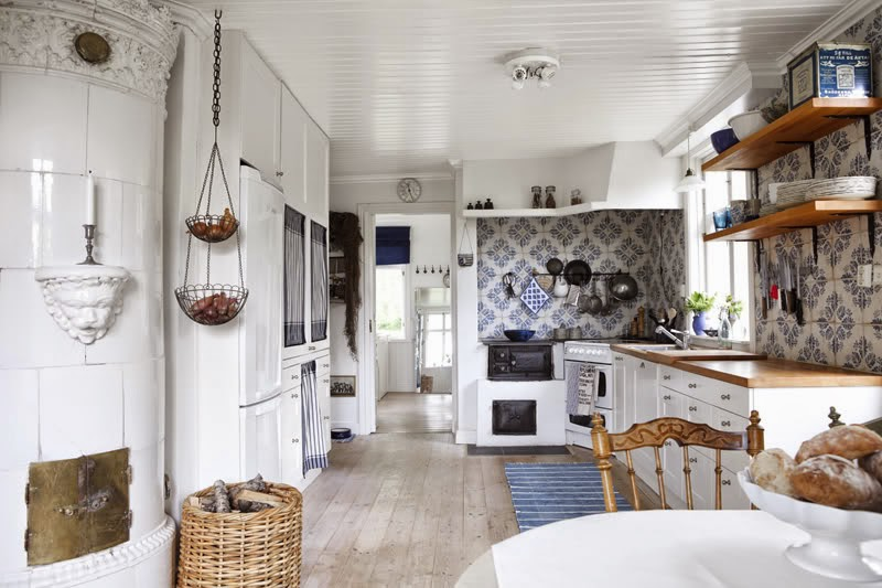 Decor inspiration lovely scandinavian country house cool chic style fashion - Casa country style ...