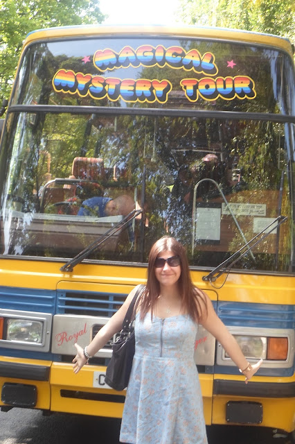 The Beatles Magical Mystery Tour Bus