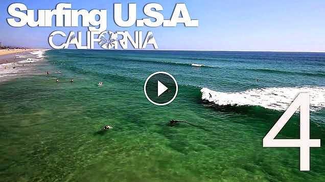 Surfing USA CALIFORNIA Part 4 - LuzuVlogs