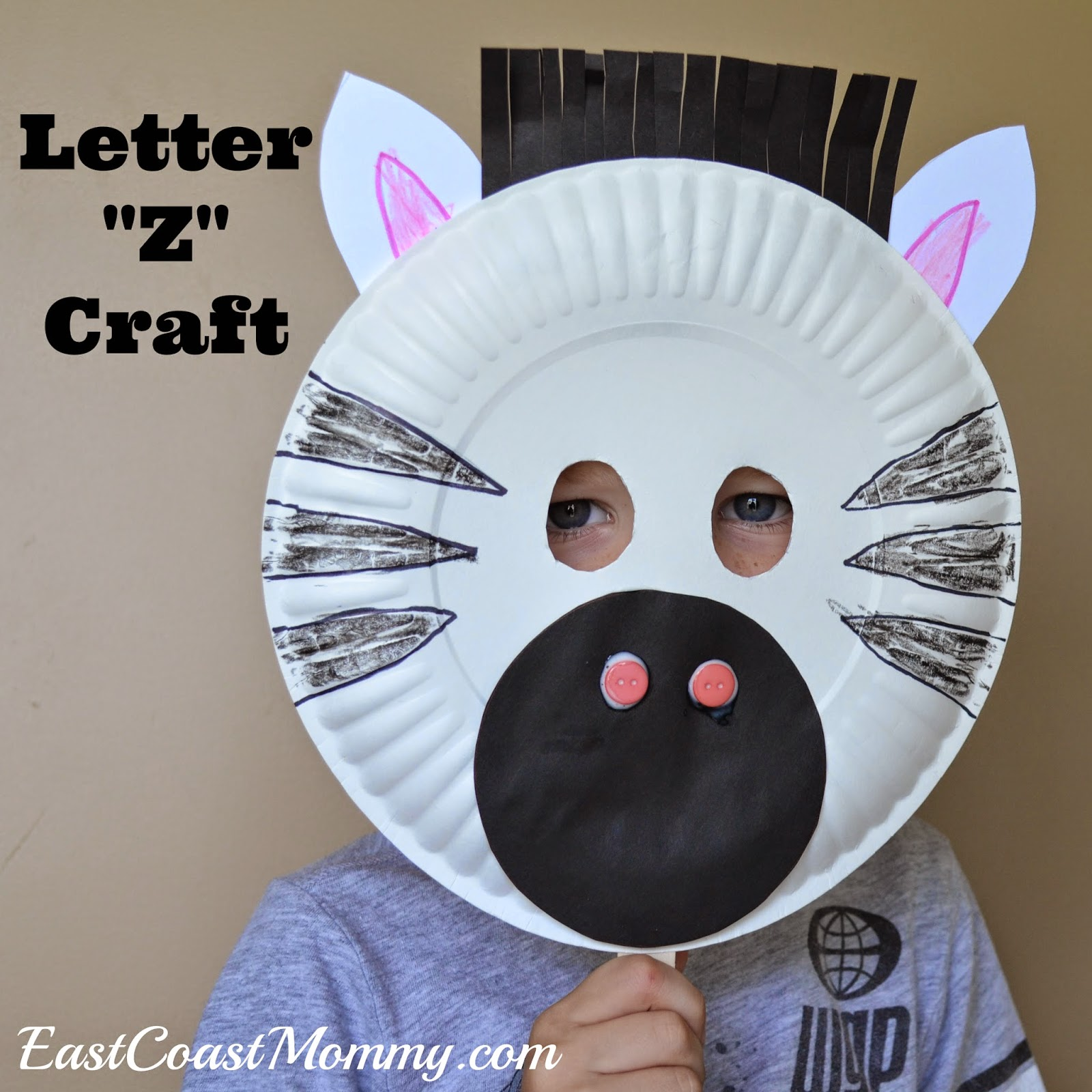 East Coast Mommy Alphabet Crafts Letter Z