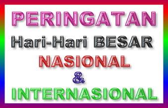 Hari Besar Nasional Indonesia Dan Internasional Lengkap