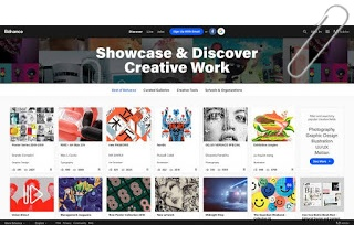 Tampilan Website Produk Online Di Creative Market
