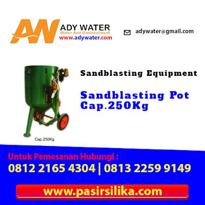 Peralatan Sandblasting