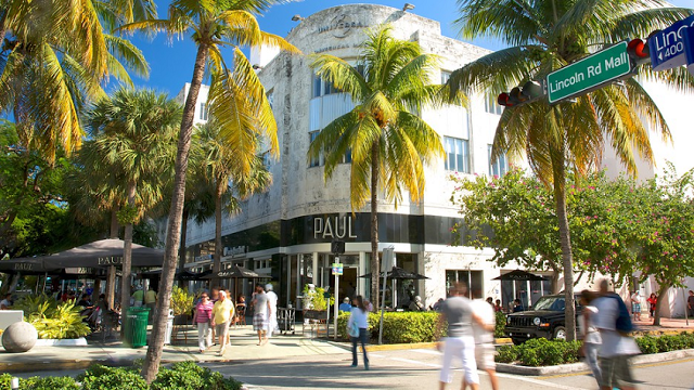 Compras en Lincoln Road en Miami