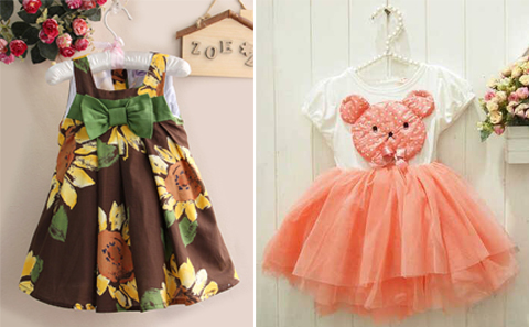 baju dress anak branded