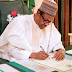 President Buhari reacts on Bukola Saraki's Supreme Court judgement