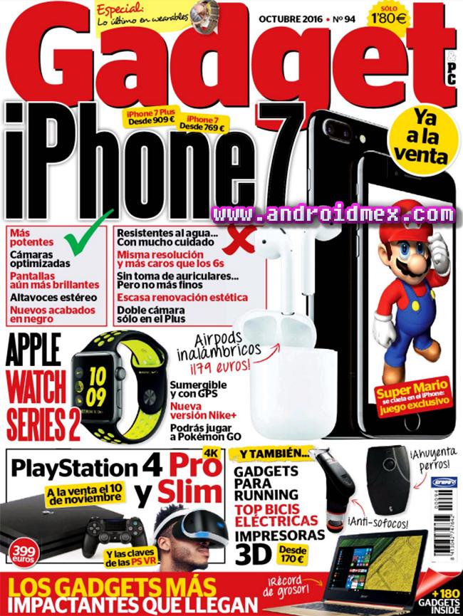 Gadget - Octubre 2016 - iPhone 7