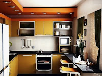 The latest Fresh kitchen design on a Simple Minimalist House