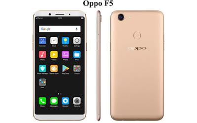 Harga Oppo F5, Spesifikasi Oppo F5, Review Oppo F5