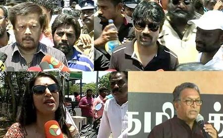 Actors about Cauvery Protest | #CauveryManagementBoard #CauveryProtest