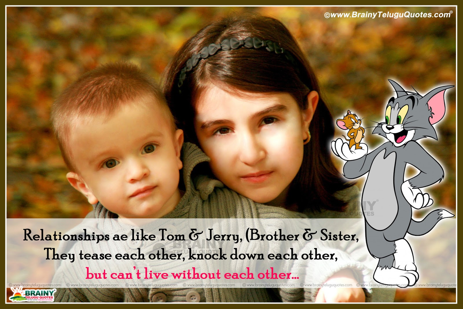 Best Sibling Quotes For Your Lovely Brother Or Sister With
