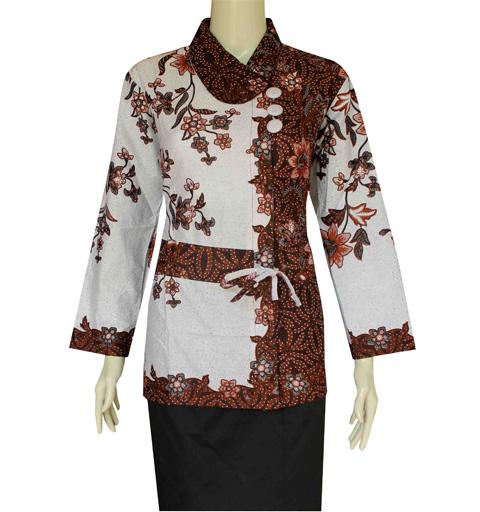 Model Batik Wanita Terbaru Dan Modern Untuk Ke Undangan  Gaya