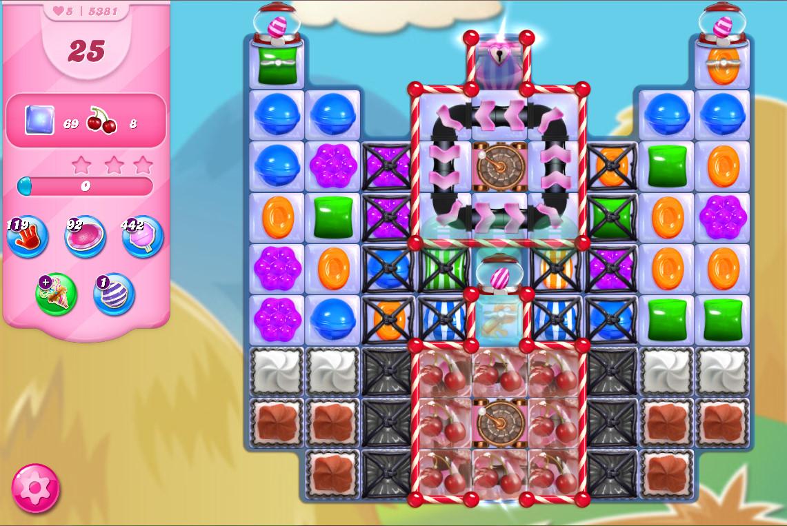 Candy Crush Saga level 5381