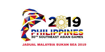Jadual Malaysia Sukan SEA 2019 Filipina