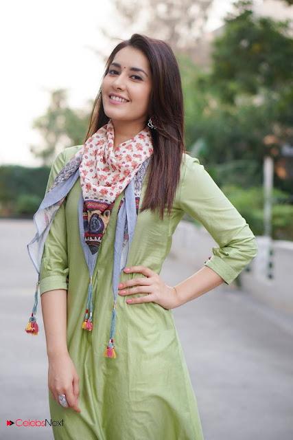 Actress Raashi Khanna Latest Stunning Poshoot Stills in Green Stylish Salwar Kameez  0001.jpg