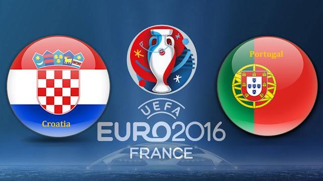 LIVE SCORE EURO: Hasil Kroasia vs Portugal Prediksi Skor dan Jadwal Piala Eropa 2016 RCTI