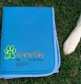 Eco-friendly pet products like this Cool Pet Pad from The Green Pet Shop