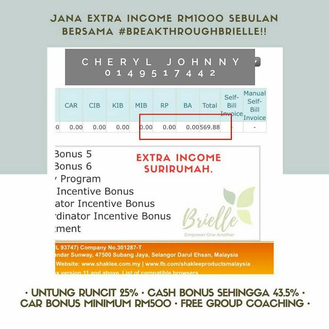 Mentor Bisnes Shaklee Sabah - 0149517442