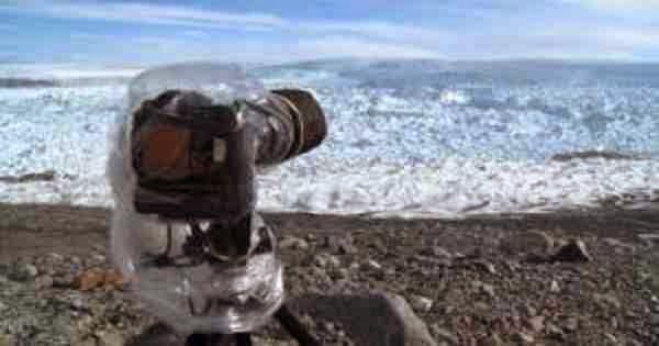 Τοποθέτησαν μια φωτογραφική μηχανή σε μια απομακρυσμένη περιοχή της Γροιλανδία και δείτε τι αντίκρισαν….