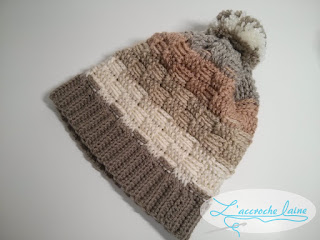 L'accroche laine - Tuque au point de panier