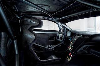 Acura NSX GT3 2017 Interior