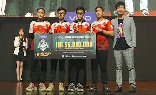 Bigetron Esport telah resmi menjadi sang juara Champion PUBG Mobile Clum Open Region Indonesia 2019. Dan inilah 5 tim yang akan mewakili Indonesia di PMCO Asia Tenggara.