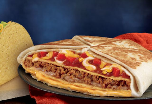 Image result for mexican pizza crunchwrap