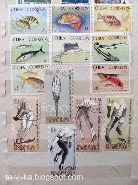 марки Куба Бурунди