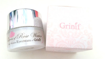 Grinif Queen of Rose Water Eye Cream