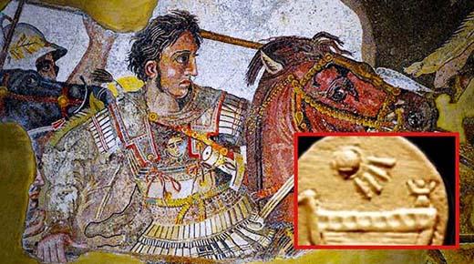¿Horda de artefactos alienígenas encontrados en la tumba de Alejandro el Grande?