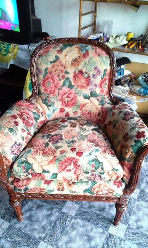 Reciclado de sillas y sillones 05 01 2016 06 01 2016 for Reciclado de sillones