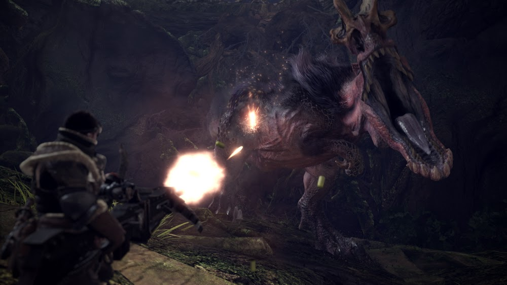 The Qwillery: Monster Hunter: World Coming from Capcom